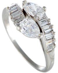 Cartier - Cartier Platinum 1.67 Ct. Tw. Diamond Ring - Lyst