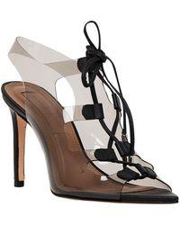BCBGMAXAZRIA Demi Leather Sandal - Black