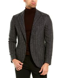 Brunello Cucinelli Alpaca & Wool-blend Blazer - Multicolour