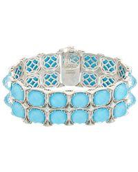 Tacori - Island Rains 18k & Silver 120.68 Ct. Tw. Gemstone Doublet Bracelet - Lyst