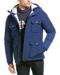 Woolrich Padded Coat - Blue