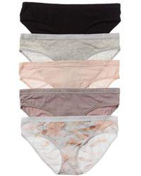 Danskin 5pk Panty - Gray
