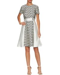 Bibhu Mohapatra - Lace A-line Dress - Lyst