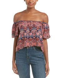 Peach Love CA - Off-the-shoulder - Lyst