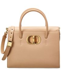 Dior St Honore Large Leather Tote - Natural