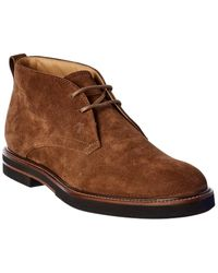Tod's Suede Chukka Boot - Brown