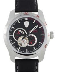 Ferrari Leather Watch - Multicolour