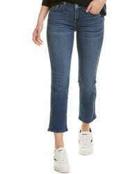 7 For All Mankind 7 For All Mankind Kimmie Bnva Crop Jean - Blue