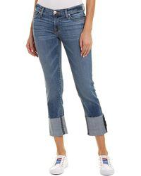 Hudson Jeans Tally Impala Skinny Crop - Blue
