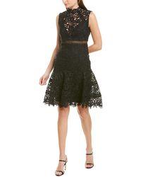 Bardot Elise Lace Cocktail Dress - Black