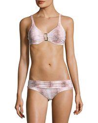 Melissa Odabash Bel Air Bikini Top - White