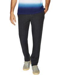 Burberry Brit - Linen Flat Front Trouser - Lyst
