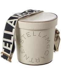 Stella McCartney Logo Bucket Bag - Multicolour