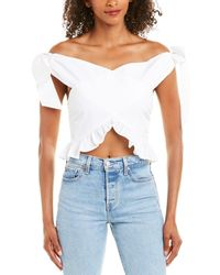 Lovers + Friends Lovers + Friends Natural Light Top - White