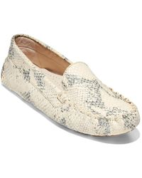 Cole Haan Evelyn Leather Driver - White