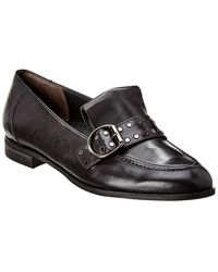 Paul Green Tarin Leather Loafer - Black