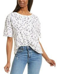 Vince Camuto - Snake Silhouettes Top - Lyst