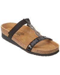 Naot - Aspen Leather Wedge Sandal - Lyst