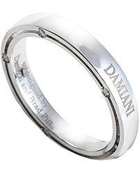 Damiani 18k Diamond Ring - Metallic