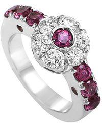 Pasquale Bruni - 18k 0.96 Ct. Tw. Diamond & Sapphire Ring - Lyst