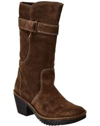 Fly London Woli Suede Boot - Brown
