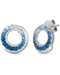 Le Vian ? 14k 1.04 Ct. Tw. Sapphire Earring - Blue