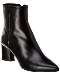 Theory Amria Leather Boot - Black