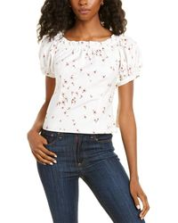 Cece By Cynthia Steffe Off-the-shoulder Top - White