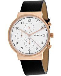 Skagen Denmark Men's Ancher Watch - Metallic
