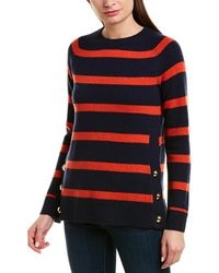 Sail To Sable Wool Jumper - Blue