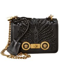 4bb1955a2d19 Lyst - Versace Icon Quilted-leather Shoulder Bag in Black
