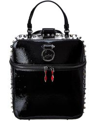 Christian Louboutin - Rubylou Patent Backpack - Lyst