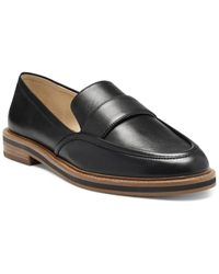 Vince Camuto Jorda Leather Loafer - Black