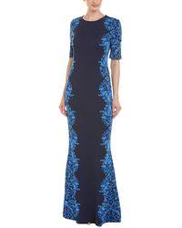 St. John Maxi Dress - Blue
