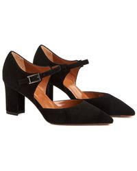 Aquatalia - Mirabelle Waterproof Suede Pump - Lyst