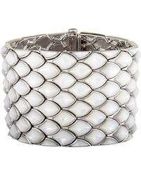 Stephen Webster Silver Mother-of-pearl Bracelet - Metallic