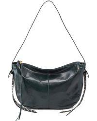 Hobo Enchant Leather Shoulder Bag - Black
