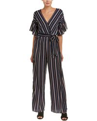 Jealous Tomato - Striped Jumpsuit - Lyst