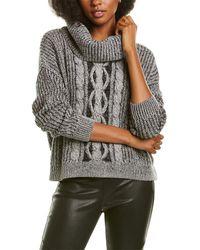 Bobi Cropped Sweater - Grey