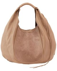 Hobo Eclipse Leather Bag - Brown
