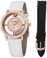 Stuhrling Original - Women's Winchester Tiara Watch With Interchangeable Strap - Lyst