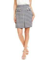 Brooks Brothers Boucle Skirt - Blue