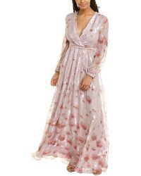 Max Mara Studio 1uscita Silk-blend Gown - Pink