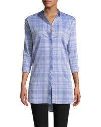 M.i.h Jeans Oversized Oxford Shirt - Blue