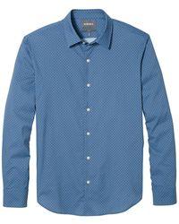Bonobos Tech Button Down Shirt - Blue