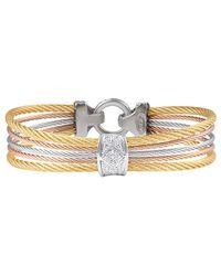 Alor - Classique 18k Diamond Bracelet - Lyst