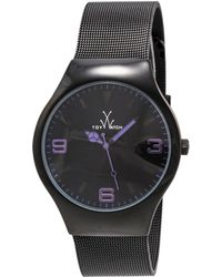 Toy Watch Unisex Only Time Watch - Black