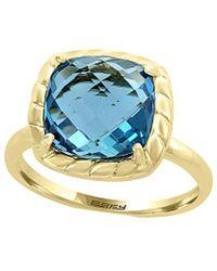Effy Fine Jewellery 14k 5.25 Ct. Tw. London Blue Topaz Ring