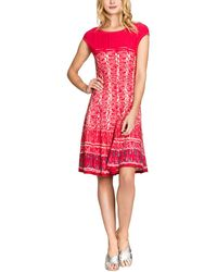 NIC+ZOE Petite Dress - Red