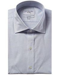 Ledbury Farrell Tailored Fit Dress Shirt - Blue